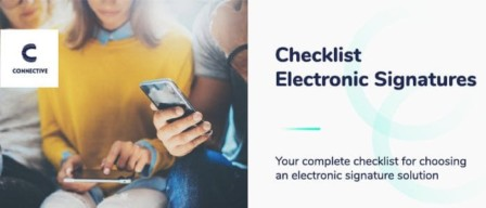 Electronic Signatures Checklist - Connective