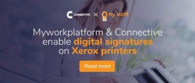 Sign digitally on Xerox printer