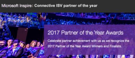 le partenaire ISV de l'année de Microsoft