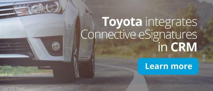 Toyota Esignatures