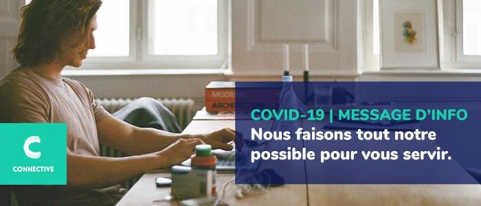 Covid-19 | Message d'information de Connective