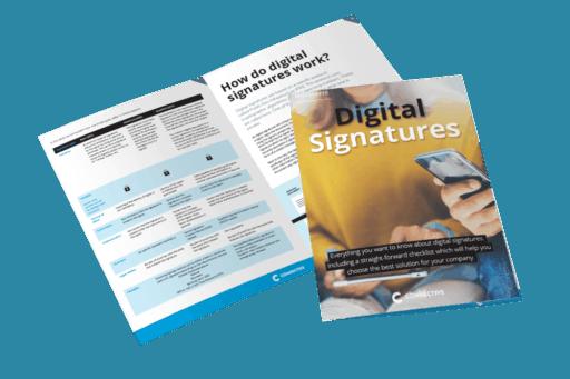 Whitepaper digital Signatures