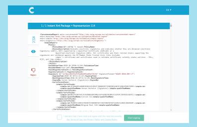 XML Signing