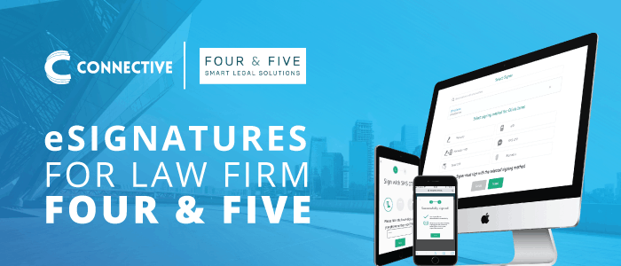 Four & Five, digital signatures, law firm